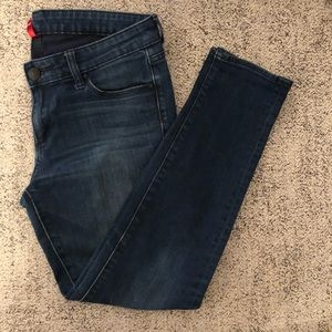 Uniqlo super skinny tapered low rise jeans